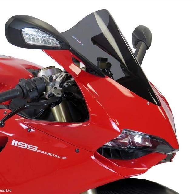 Ducati >> 1199/899Panigale(12-15)スポーツ・エアフロ-スクリーン Powerbronze