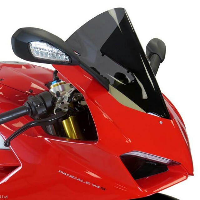 Ducati >> PANIGALE V4(18-)スポーツ・エアフロ-スクリーン Powerbronze