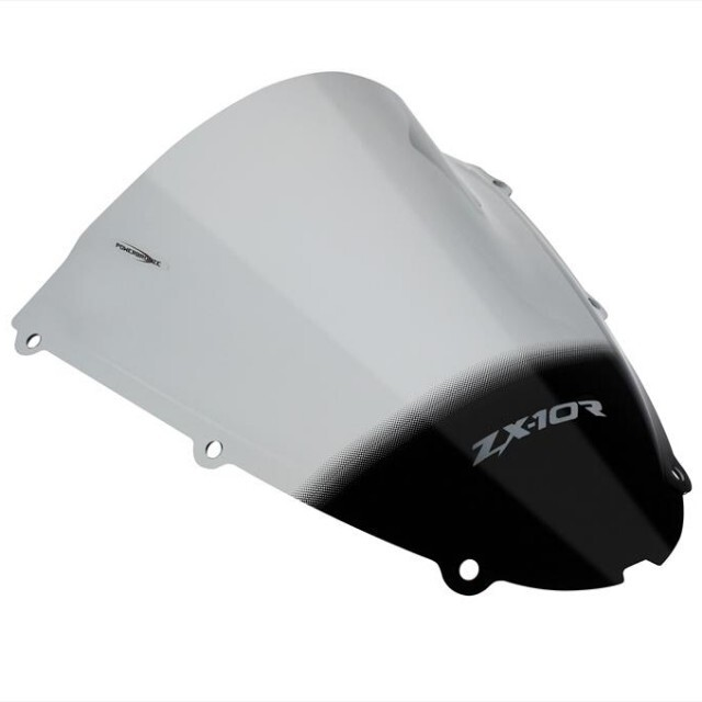 KAWASAKI >> ZX-10R(06-07)スポーツ・エアフロ-スクリーン Powerbronze