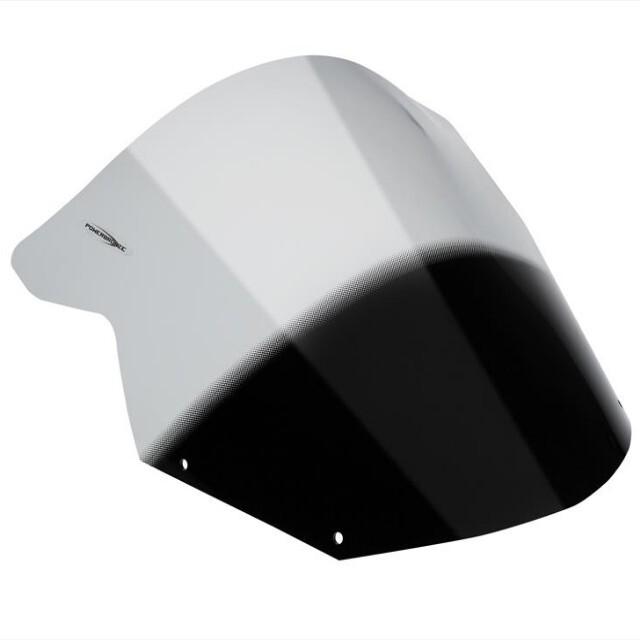 KAWASAKI >> Ninja650R(09-11)・Ninja400R(11-13)スポーツ・エアフロ-スクリーン Powerbronze