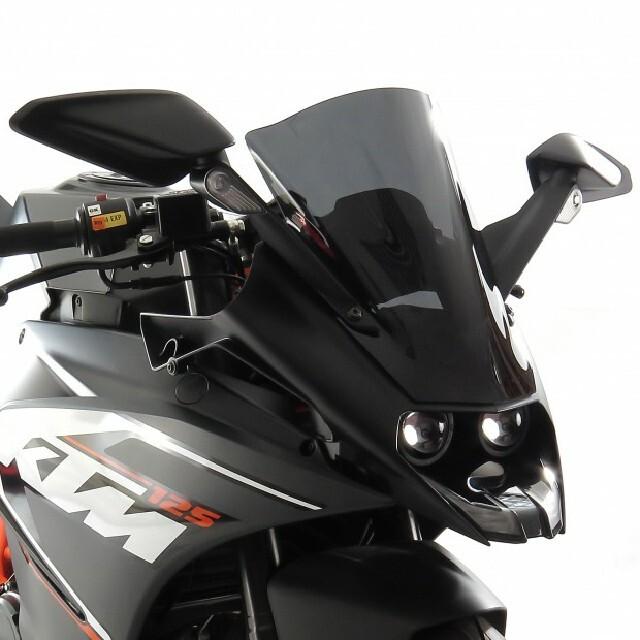 KTM >> RC125/250/390 (15-) スポーツ・エアフロ-スクリーン Powerbronze