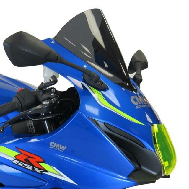 SUZUKI >> GSX-R1000R(17-)スポーツ・エアフロ-スクリーン【エクストラ・ハイ】 Powerbronze