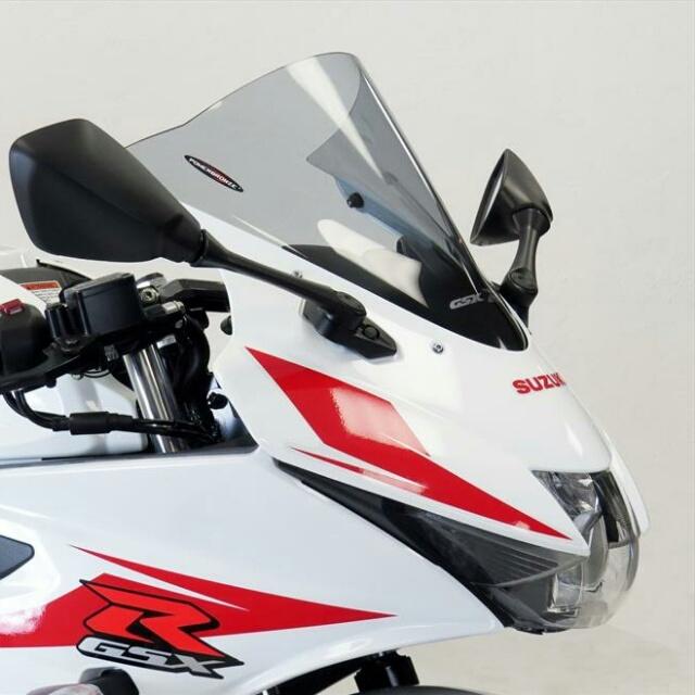 SUZUKI >> GSX-R125(17-)スポーツ・エアフロ-スクリーン Powerbronze