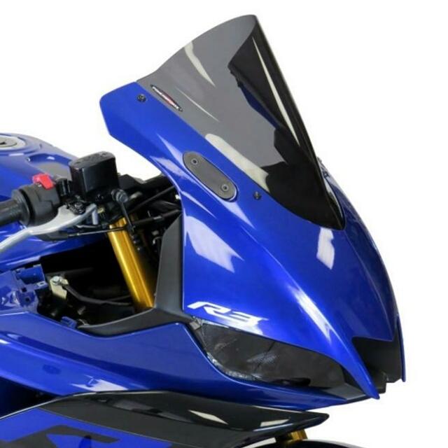 YAMAHA >> YZF-R25/R3(19-)スポーツ・エアフロ-スクリーン Powerbronze