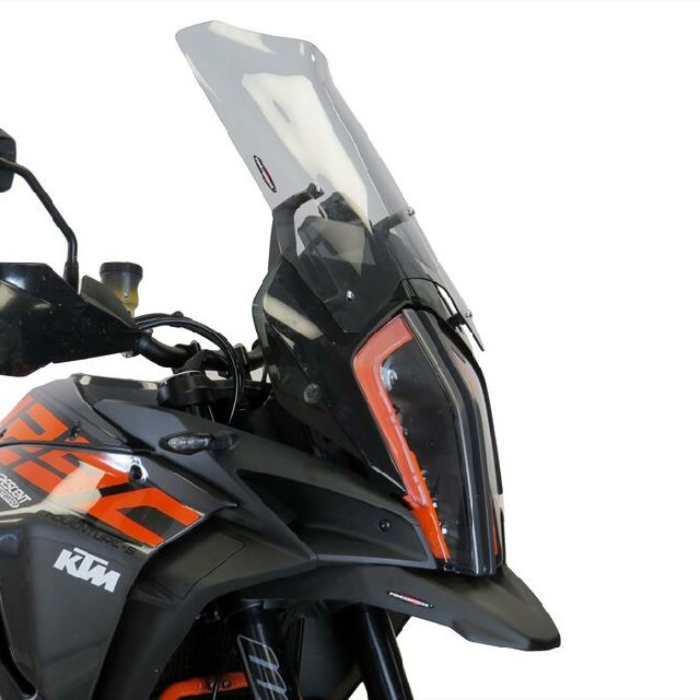KTM >> 1290SuperAdventureR/S(17-) スポーツ・フリップスクリーン【ロング】 Powerbronze