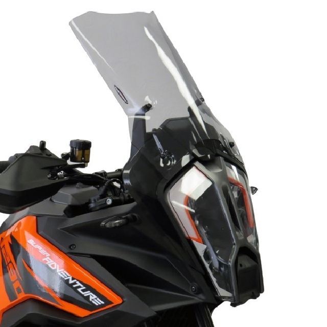 KTM >> 1290SuperAdventureS(21-) スポーツ・フリップスクリーン【ロング】 Powerbronze