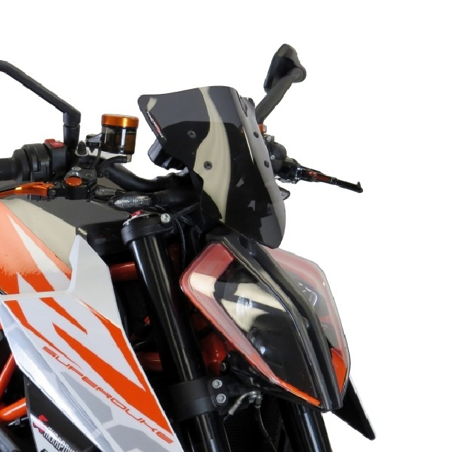 KTM >> 1290SuperDukeR(17-) ネイキッド・スクリーン【ショート】 PowerBronze