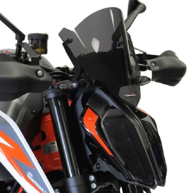 KTM >> 890Duke/R(20-) ネイキッド・スクリーン【ショート】 PowerBronze