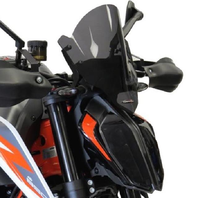 KTM >> 890Duke/R(20-) ネイキッド・スクリーン【ミドル】 PowerBronze