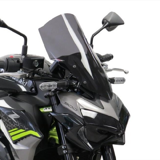 KAWASAKI >> Z900(20-)・Z650(20-) ネイキッド・スクリーン【ロング】PowerBronze