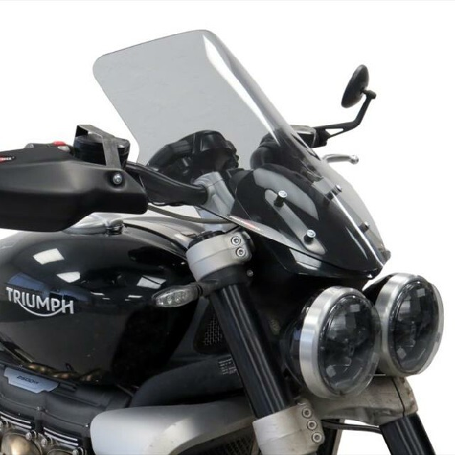 TRIUMPH>> ROCKET3 R(20-) ネイキッド・スクリーン【ロング】
