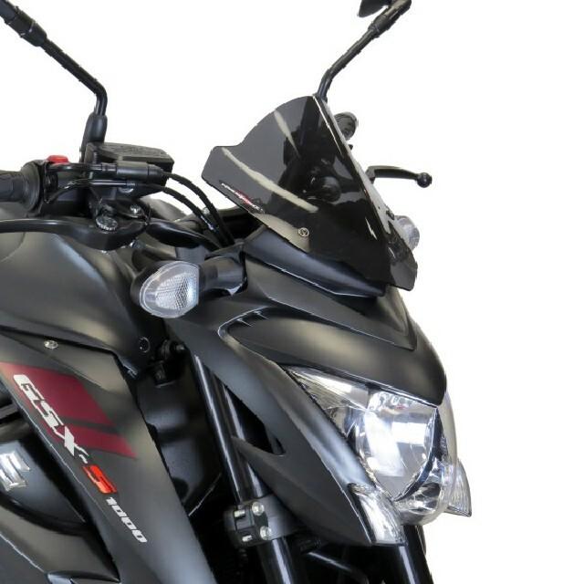 SUZUKI >> GSX-S1000 (15-)ネイキッド・スクリーン【ショート】 PowerBronze