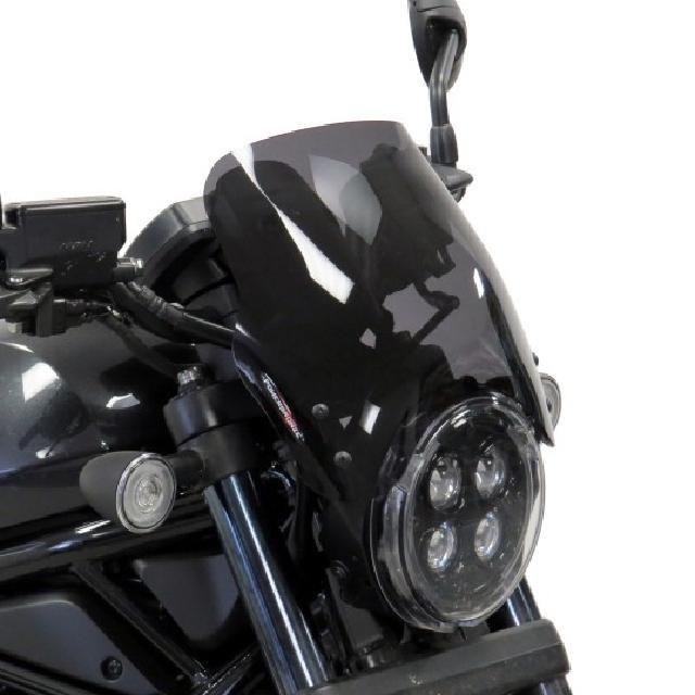 HONDA >> REBEL1100 (21-) ネイキッド・スクリーン【ミドル】  Powerbronze