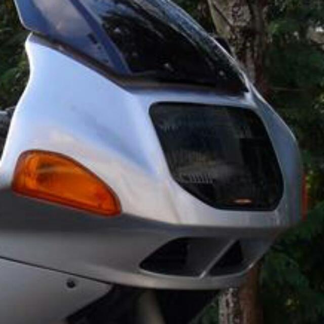BMW >> R1100RS(ALL) ヘッドライトレンズシールド Powerbronze
