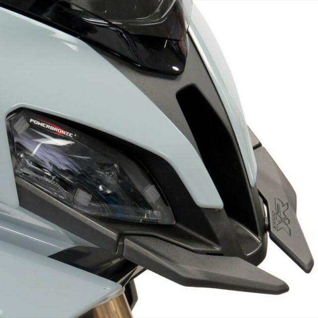 BMW >> S1000XR (20-) ヘッドライトレンズシールド Powerbronze