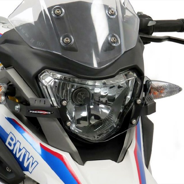 BMW >> G310GS (17-) ヘッドライトレンズシールド【Pro】  Powerbronze