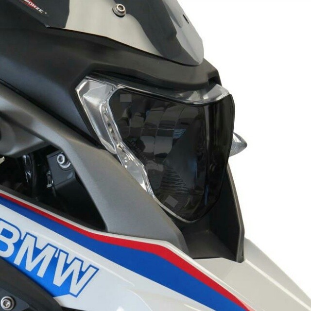 BMW >> G310R/GS(16-) ヘッドライトレンズシールド Powerbronze
