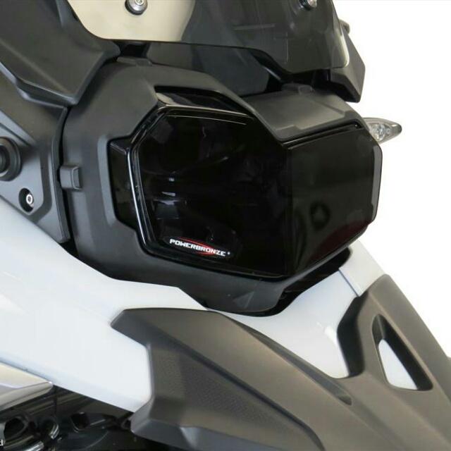 BMW >> F850GS・F750GS(18-) ヘッドライトレンズシールド Powerbronze