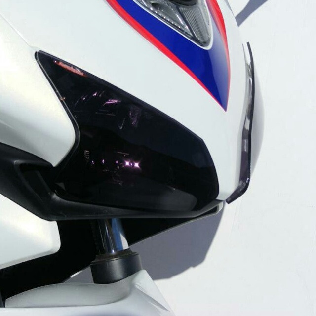 HONDA >> CBR400R (13-15) ヘッドライトレンズシールド Powerbronze