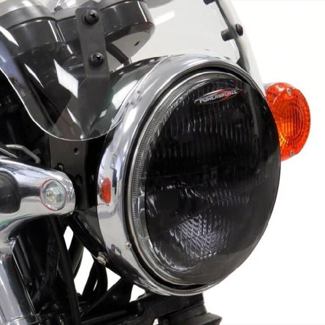 KAWASAKI >>W800(11-) ヘッドライトレンズシールド Powerbronze