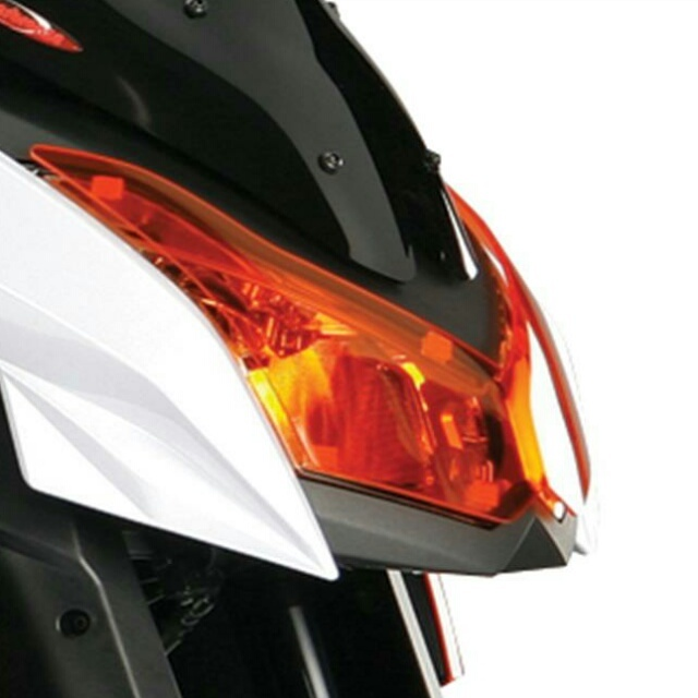KAWASAKI >> Z1000 (10-13) ヘッドライトレンズシールド Powerbronze
