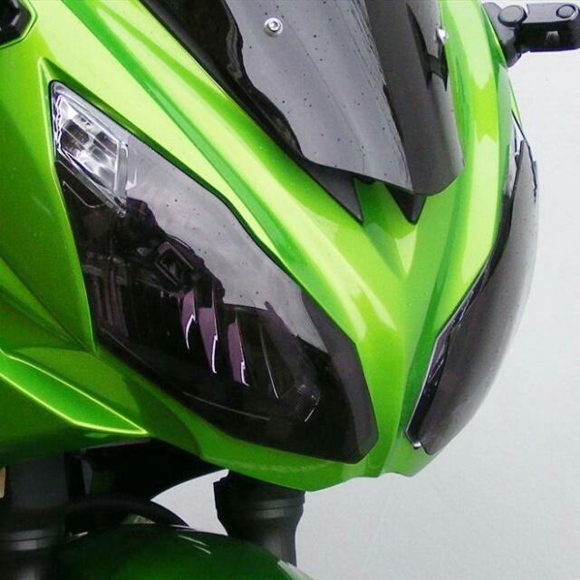 KAWASAKI >>Ninja650(12-16)・Ninja400(14-17)ヘッドライトレンズシールド Powerbronze