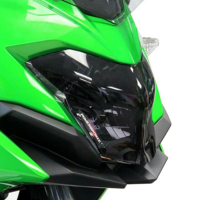 KAWASAKI >>VERSYS-X 250/TOURER(17-) ヘッドライトレンズシールド Powerbronze