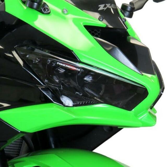 KAWASAKI >>Ninja650 (20-) ヘッドライトレンズシールド Powerbronze