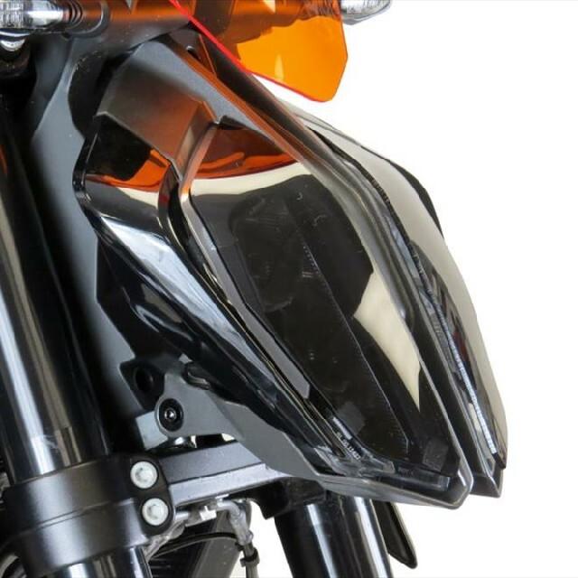 KTM >> 125DUKE (17-) ヘッドライトレンズシールド Powerbronze