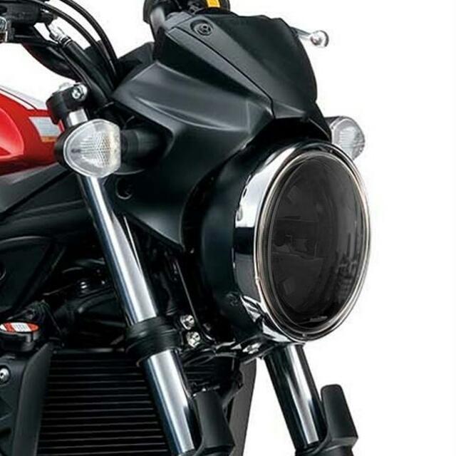 SUZUKI >> SV650/X ABS(16-)ヘッドライトレンズシールド Powerbronze