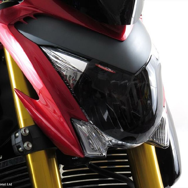 SUZUKI >> GSX-S1000(15-)ヘッドライトレンズシールド Powerbronze