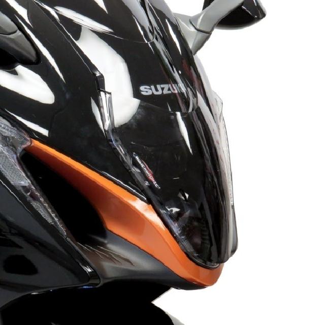 SUZUKI >> GSX1300R 隼(21-) ヘッドライトレンズシールド Powerbronze
