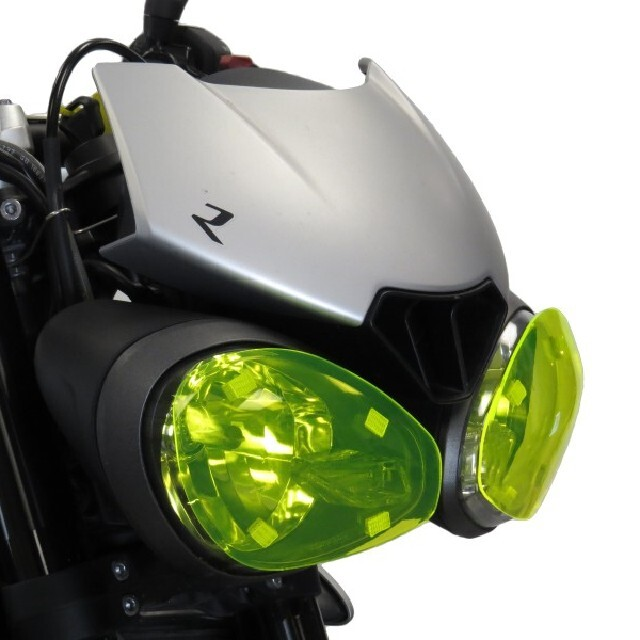 Triumph >> StreetTriple RS/R/S (17-19) ヘッドライトレンズシールド Powerbronze