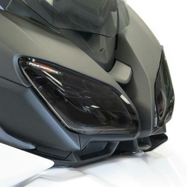 YAMAHA >> TRACER900/GT(18-) ヘッドライトレンズシールド Powerbronze