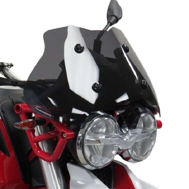 MOTO GUZZI >> V85TT(19-) ADVスポーツスクリーン Powerbronze