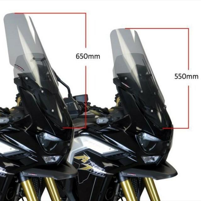 HONDA >> CRF1100L アフリカツインADV-S (20-) アジャスタブル・スクリーン Powerbronze