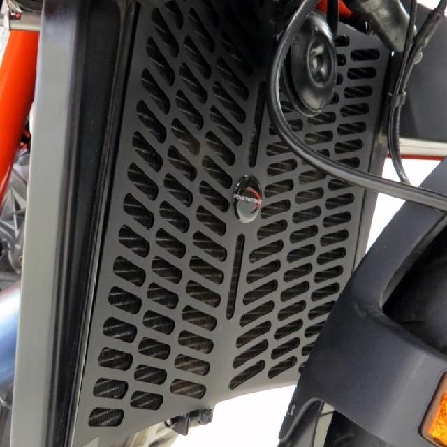 KTM >> 1290SuperDukeR (20-) ラジエターカバー PowerBronze