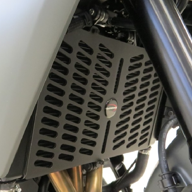 YAMAHA >> TRACER9 GT(21-) ラジエターカバー PowerBronze