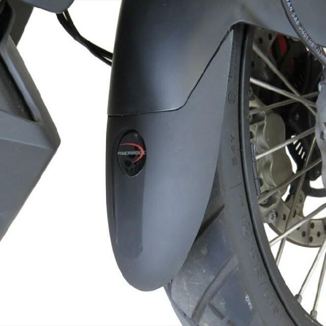 KTM >> 790Adventure(19-) マッドガードエクステンダー Powerbronze