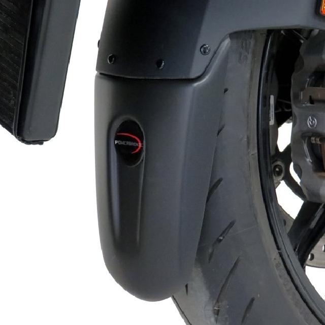 KTM >> 1290SuperDukeR(20-) マッドガードエクステンダー PowerBronze