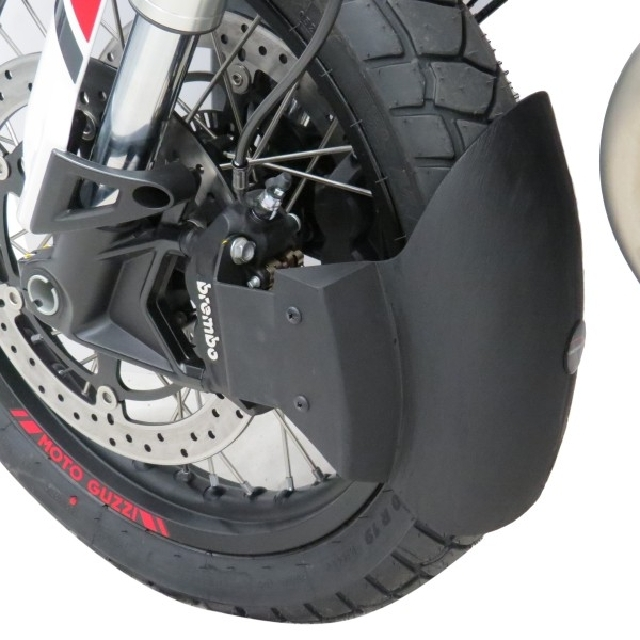 MOTO GUZZI >> V85TT(19-) マッドガードエクステンダー Powerbronze