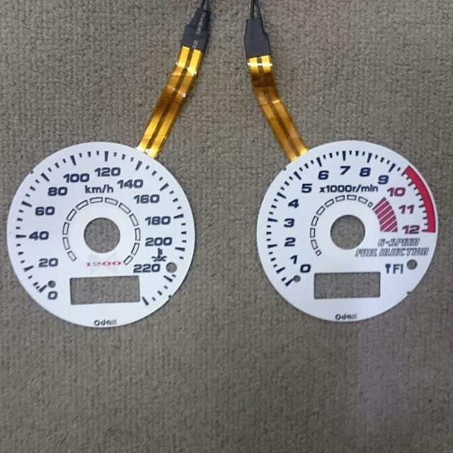 KAWASAKI >> ZRX1200DAEG (09-16)ACスタイル  ELメーターパネル