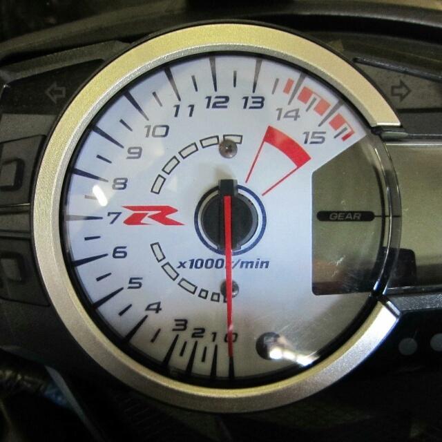 SUZUKI >> GSX-R1000(09-16)ACスタイル  ELメーターパネル