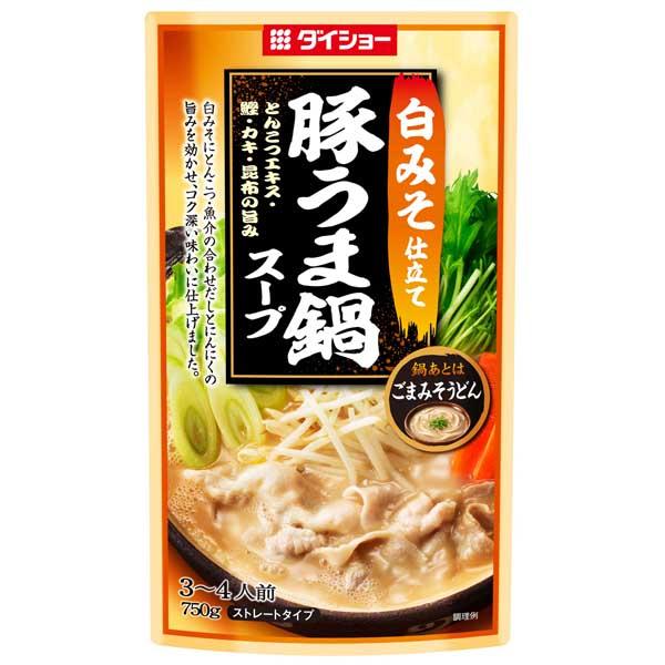 白みそ仕立て 豚うま鍋スープ商品画像