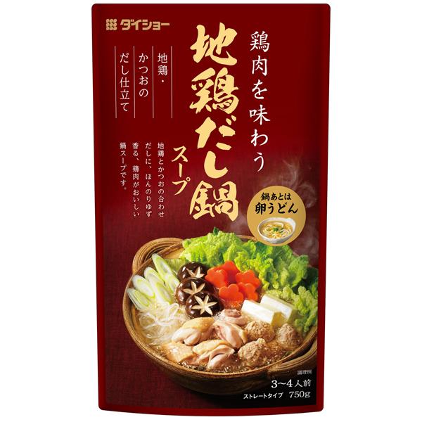 地鶏だし鍋スープ商品画像