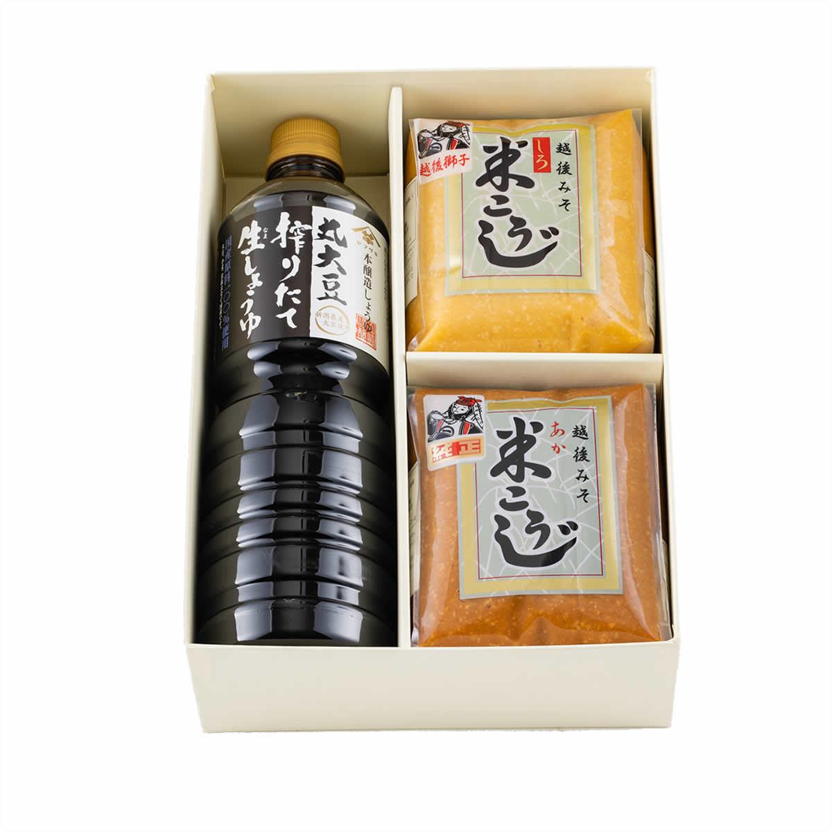 山崎醸造 CN-25 味の詰め合わせ 1L×1・1kg×2 【送料無料】 | こめや丸七