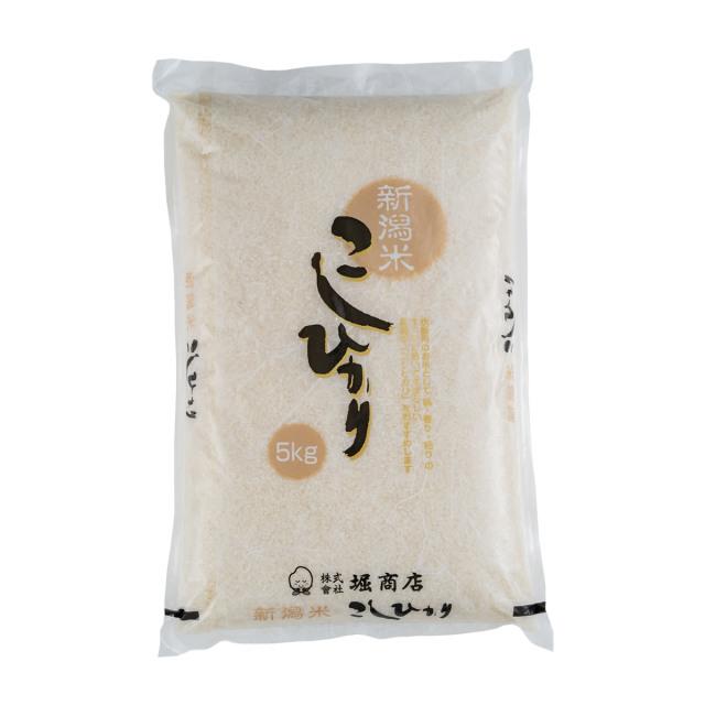 新米<令和3年産>新潟県産コシヒカリ 5kg  | こめや丸七