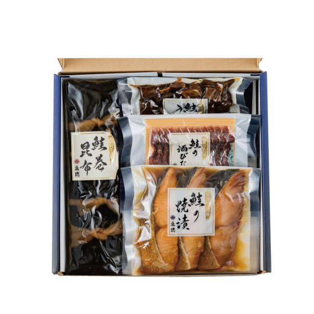永徳 鮭詰合せ NM-04【送料無料】   こめや丸七