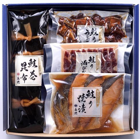 永徳 鮭詰合せ NM-04【送料込】