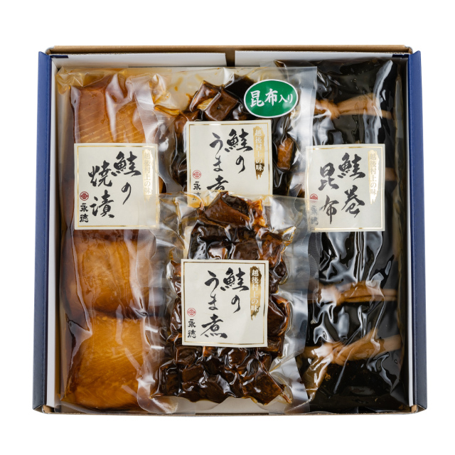 永徳 鮭詰合せ NM-05【送料無料】 | こめや丸七